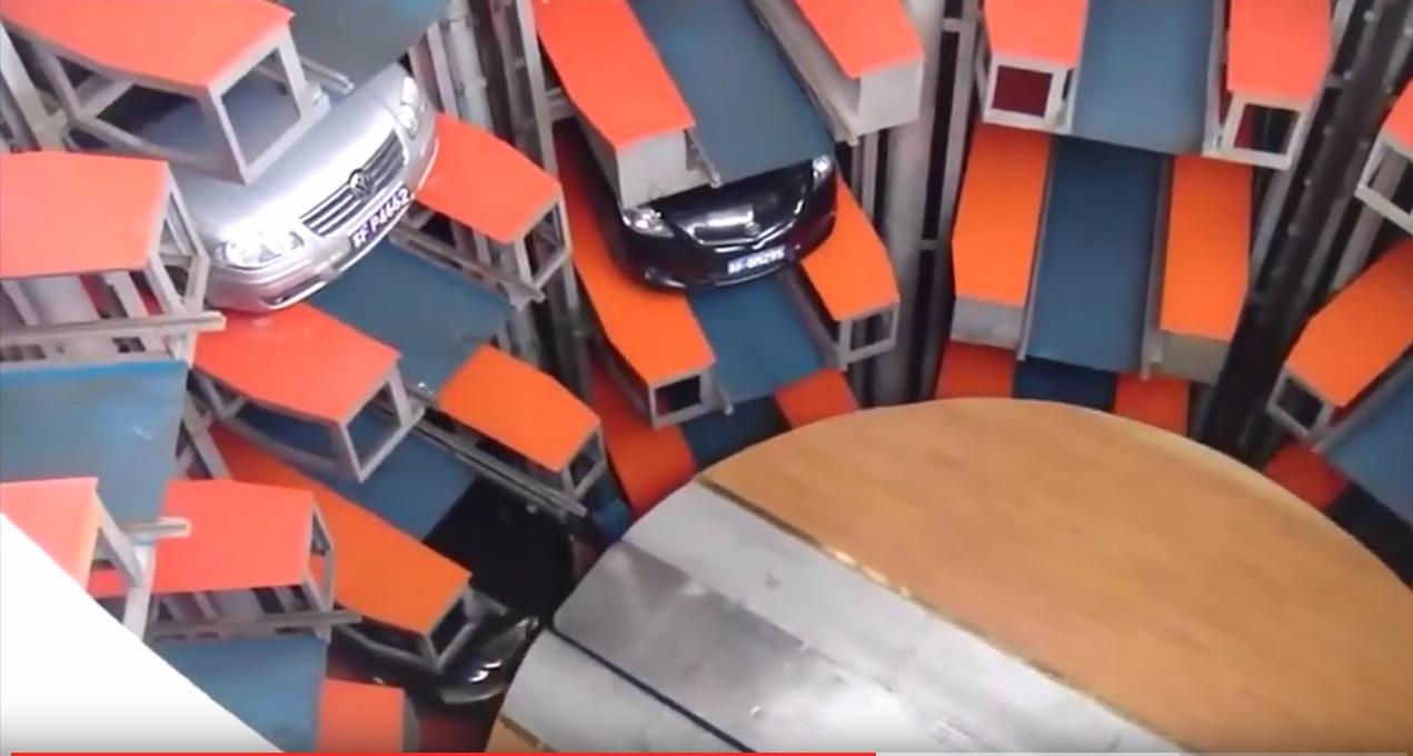 Υπόγειο πάρκινγκ στην Κίνα