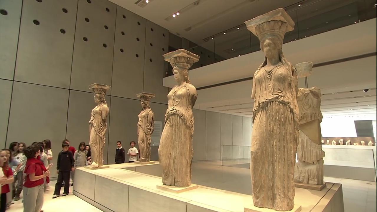Επίσκεψη στο Μουσείο Ακρόπολης