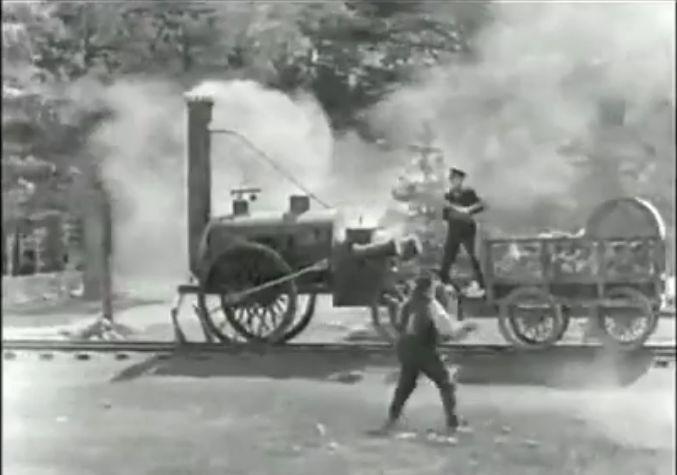Πρωτόγονο τραίνο