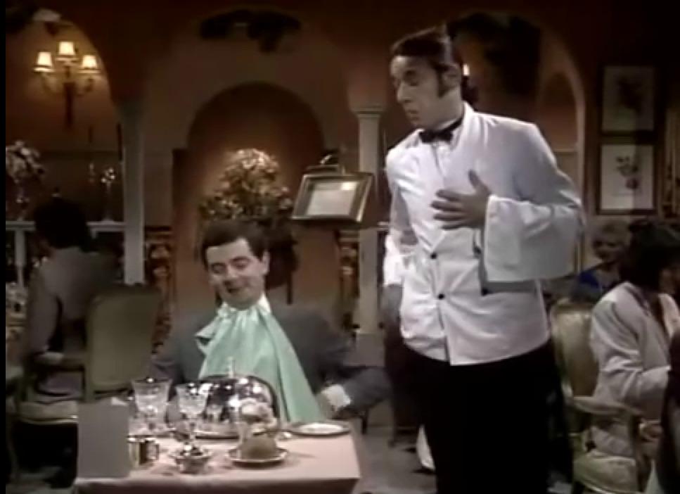 Mr Bean, επέτειος και φιλέτο ταρτάρ