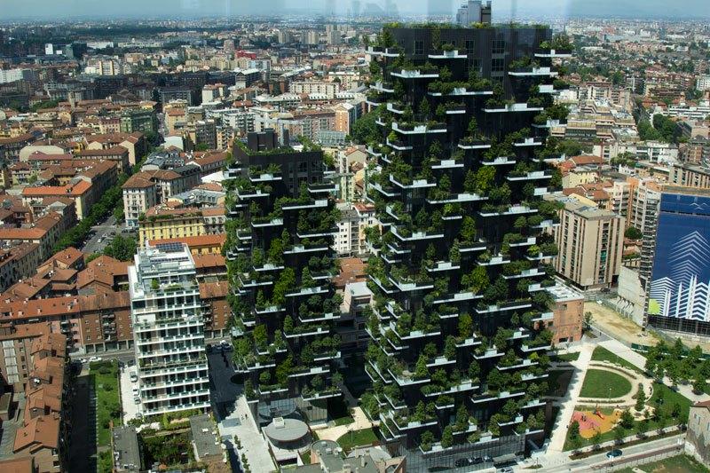 Οι πράσινοι πύργοι στο Μιλάνο